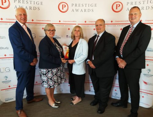 Anglia Crown wins Hospital Food Provider of the Year at Prestige Awards